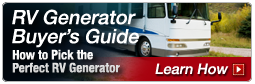 RV Generator Buyer's Guide