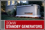 Top-Rated & Best-Selling 20kW Standby Generators