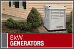 Top-Rated & Best-Selling 8kW Standby Generators