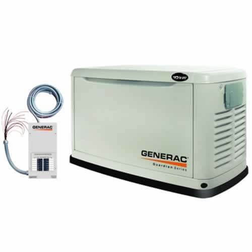 Generac Guardian Series� 5502 - 10kW Essential Circuit Standby Generator System