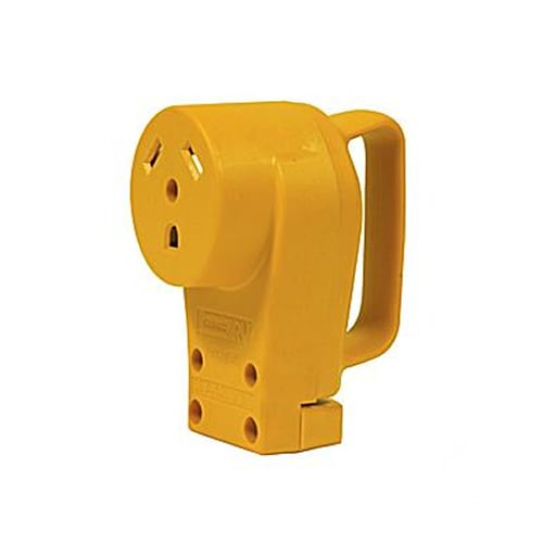 Camco Power Grip Series� 30-Amp RV Replacement Receptacle