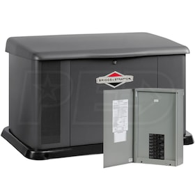 Briggs & Stratton 20kW Standby Generator System (100A 16-Circuit + AC Shedding)