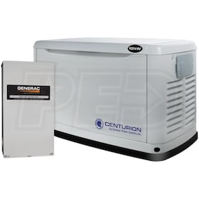 Centurion 6281 - 15kW Standby Generator System (200A Service Disconnect + AC Shedding)