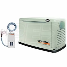 Generac Guardian Series™ 5501 - 8kW Essential Circuit Standby Generator System