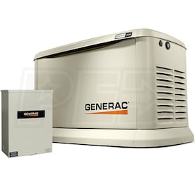Generac Guardian™ 22kW Standby Generator System (100A Service Disconnect + AC Shedding)