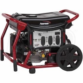 Powermate WX Series - 6500 Watt Electric Start Portable Generator