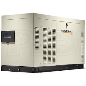 Generac Protector® 60kW Automatic Standby Generator (120/240V 3P - LP - Steel)