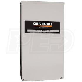Generac Smart Switch™ 150-Amp Automatic Transfer Switch + AC Shedding (Service Disconnect)