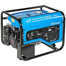 Tsurumi TPG4-7000HDXE - 6000 Watt Electric Start Professional Portable Generator