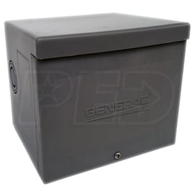 Generac 6338 - 50-Amp (Twistlock) Non-Metallic Power Inlet Box