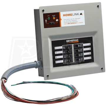Generac 30 Amp Pre Wired 6 Circuit Manual Transfer Switch: Generac 6852 - 30-Amp HomeLink™ Upgradeable Pre-Wired Manual rh:electricgeneratorsdirect.com,Design