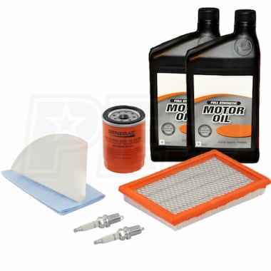 Generac 14-17KW Maintenance Kit for 2013 Evolution Standbys w/ 5W-30 Synthetic Oil