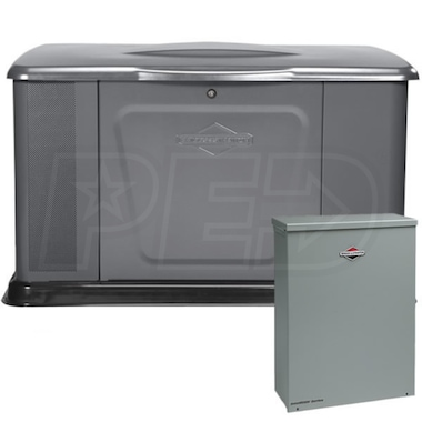 Briggs & Stratton 16kW Standby Generator System (100A Service Disconnect + AC Shedding)