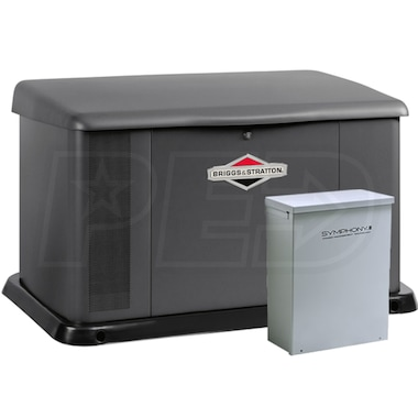 Briggs & Stratton 20KW Standby Generator System (100A Service Disconnect + AC Shedding)