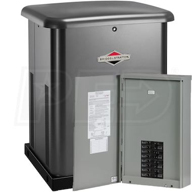 Briggs & Stratton 10kW Standby Generator System (100A 16-Circuit + AC Shedding)