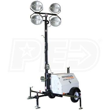 Generac MLT4080 -  8kW Towable Diesel Light Tower w/ Kubota Engine