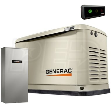 Generac Guardian™ 11kW Alum Standby Generator System (200A Service Disconnect + AC Shedding) (Scratch & Dent)