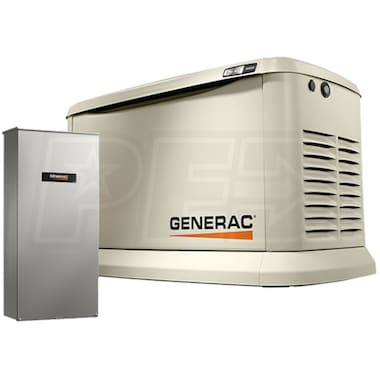 Generac Synergy™ 20kW Variable Speed Standby Generator (200A Service Disc.+ Power Mgmt. & MobileLink™)