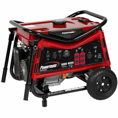 Powermate Vx Series 5000 Watt Portable Generator (CARB)