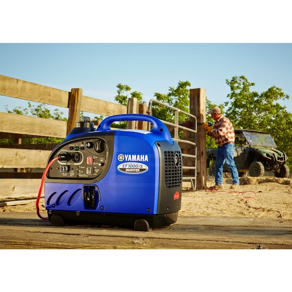 Portable Inverter Generator Used on a Ranch