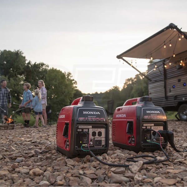 Portable Inverter Generator Used for Camping